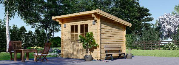 Abri de jardin bois MALTA (34 mm), 3x3 m, 9 m²