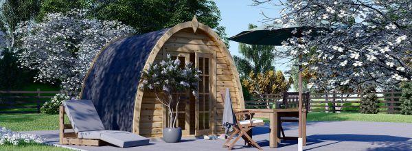 Abri de jardin en bois BRETA (28 mm), 3x3 m, 9 m²