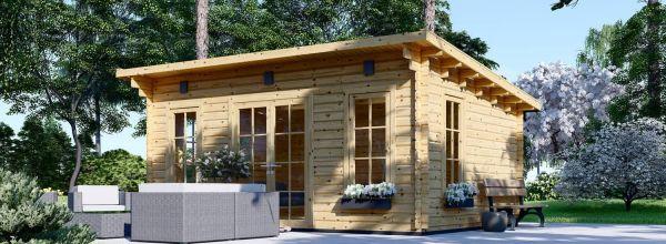 Abri de jardin en bois ESSEX (44 mm), 5x4 m, 19.9 m²