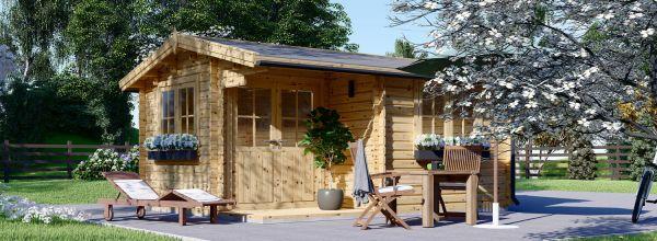 Abri de jardin en bois OSLO (34 mm), 5x4 m, 20 m²