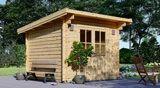 Abris de jardin bois à toit plat