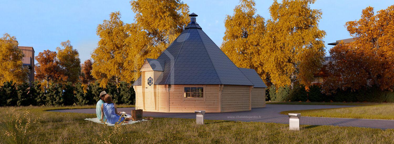 Kota-grill Finlandais avec extension 25 m² visualization 1