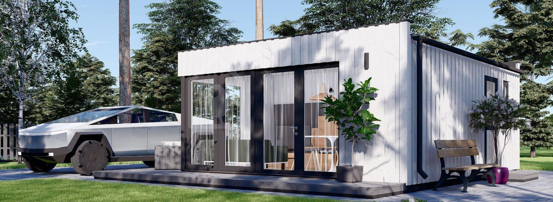 Studio de jardin ELON (SIPS, isolé RT2012), 6x5 m, 30 m² visualization 1