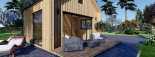 Chalet en bois SARA (44 mm + bardage), 20 m² visualization 7