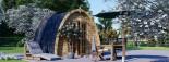 Abri de jardin BRETA (28 mm), 3x3 m, 9 m² visualization 1