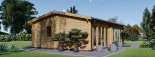 Studio de jardin habitable MARINA (44+44 mm, RT2012), 8x6 m, 48 m² visualization 4
