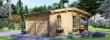 Abri de jardin ROYAL (44+44 mm, RT2012), 5x5 m, 25 m² visualization 5