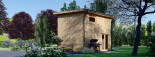 Studio de jardin LISA (44 mm + bardage), 21.84 m² visualization 5
