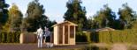 Abri de jardin GAMMA (14 mm), 1.85x1.85, 3.4 m² visualization 1