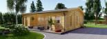 Studio de jardin MILA (44 mm), 56 m² visualization 1