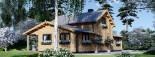 Chalet en bois HOLLAND (44+44mm) 113m + 13m terrasse visualization 5