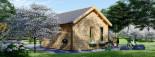 Abri de jardin CLOCKHOUSE (44 mm), 5.5x4 m, 22 m² visualization 4