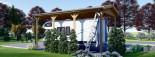 Carport en bois camping car,  3.5x7 m, 24.5 m² visualization 5