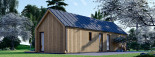 Chalet en bois ADA (44 mm + bardage), 50 m² visualization 8