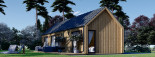 Chalet en bois ADA (44 mm + bardage), 50 m² visualization 7