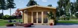 Studio de jardin MARTA (66 mm), 5x4 m, 19.9 m² visualization 2