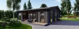 Studio de jardin MILA (44 mm), 56 m² visualization 9