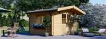 Abri de jardin RENNES (34 mm), 4x3 m, 12 m² visualization 1
