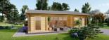 Studio de jardin MILA (44 mm), 56 m² visualization 8