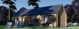 Chalet en bois ADA (44 mm + bardage), 50 m² visualization 6
