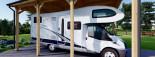 Carport en bois camping car,  3.5x7 m, 24.5 m² visualization 7