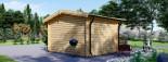 Abri de jardin DREUX (66 mm), 4x4 m, 16 m² visualization 4