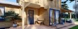 Maison en bois HOLLAND PLUS (66 mm), 120 m² + 13 m² terrasse visualization 9