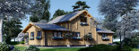 Chalet en bois HOLLAND (66 mm), 113 m² + 13 m² terrasse visualization 6