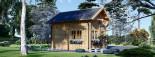 Chalet en bois AVIGNON (44 mm), 19.9 m² + 16 m² étage  visualization 4