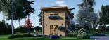 Chalet en bois à toit plat AVIGNON (44 mm), 19.9 m² + 16 m² étage  visualization 2