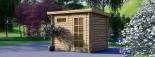 Abri de jardin MODERN (28 mm), 3x2 m, 6 m² visualization 1
