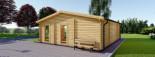 Studio de jardin MILA (44 mm), 56 m² visualization 4