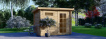 Abri de jardin MODERN (28 mm), 3x2 m, 6 m² visualization 2