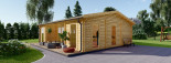 Studio de jardin MILA (44 mm), 56 m² visualization 2