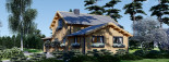 Chalet en bois HOLLAND (44+44mm) 113m + 13m terrasse visualization 8