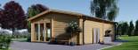 Studio de jardin MARINA (66 mm), 8x6 m, 48 m² visualization 6
