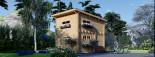 Studio de jardin à toit plat AVIGNON (58 mm), 19.9 m² + 16 m² étage visualization 1