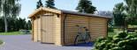 Garage en bois (44 mm), 3.2x5.2, 16 m² visualization 5