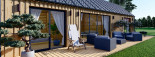 Chalet en bois ADA (44 mm + bardage), 50 m² visualization 10