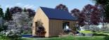Chalet en bois SALLY (44 mm + bardage), 20 m² visualization 7