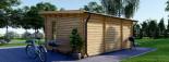 Abri de jardin ESSEX (44 mm), 5x4 m, 19.9 m² visualization 4