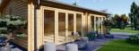 Studio de jardin habitable MARINA (44+44 mm, RT2012), 8x6 m, 48 m² visualization 8