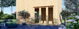 Studio de jardin LISA (44 mm + bardage), 21.84 m² visualization 6