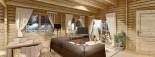 Chalet en bois LINDA (66 mm), 78 m² + 38 m² terrasse visualization 10