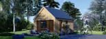 Chalet en bois SALLY (44 mm + bardage), 20 m² visualization 4