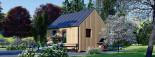Chalet en bois habitable SALLY (44 mm + bardage, RT2012), 20 m² visualization 5