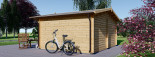 Abri de jardin LILLE (34 mm), 4x3 m, 12 m² visualization 4