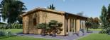 Studio de jardin MARINA (66 mm), 8x6 m, 48 m² visualization 4