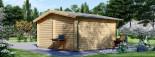 Abri de jardin DREUX (44 mm), 5x4 m, 19.9 m² visualization 4