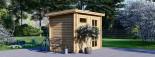 Abri de jardin MODERN (28 mm), 3x2 m, 6 m² visualization 3